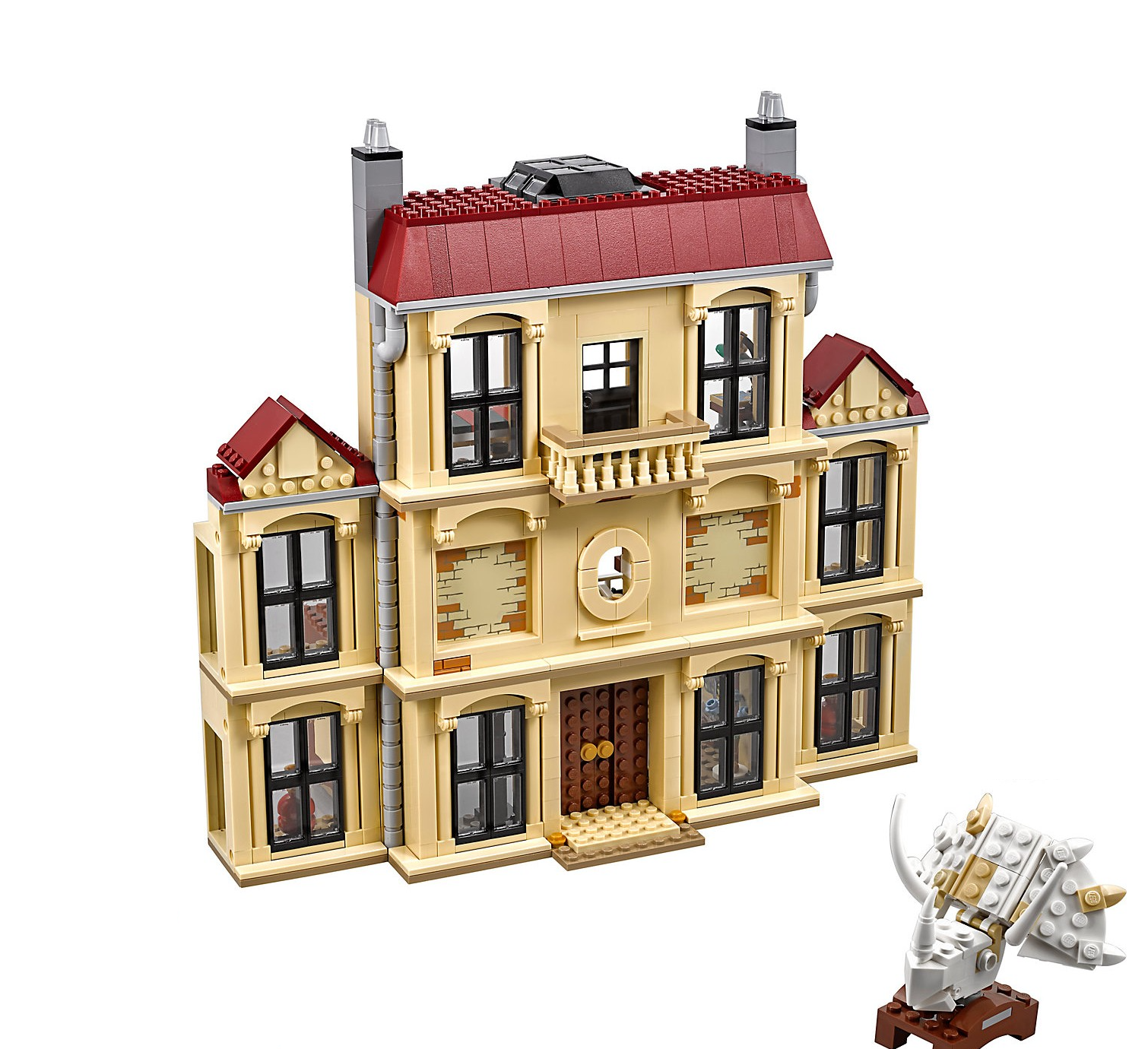 LEGO Jurassic Welt 75930 Indoraptor LockHolz Estate No Minifigures Box Dinosaur
