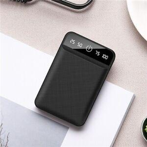 Mini Power Bank Battery Charger Phone Mobile 50000mAH USB External Backup Cell