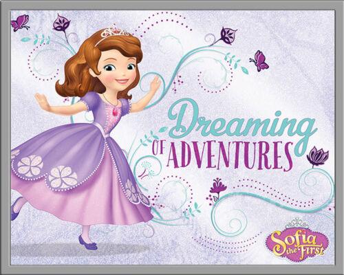 Größe 50x40 cm Sofia The First Mini Poster Dreaming Sofia die Erste