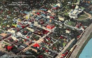 JEFFERSON CITY, MO Missouri CITY AERIAL VIEW c1940's