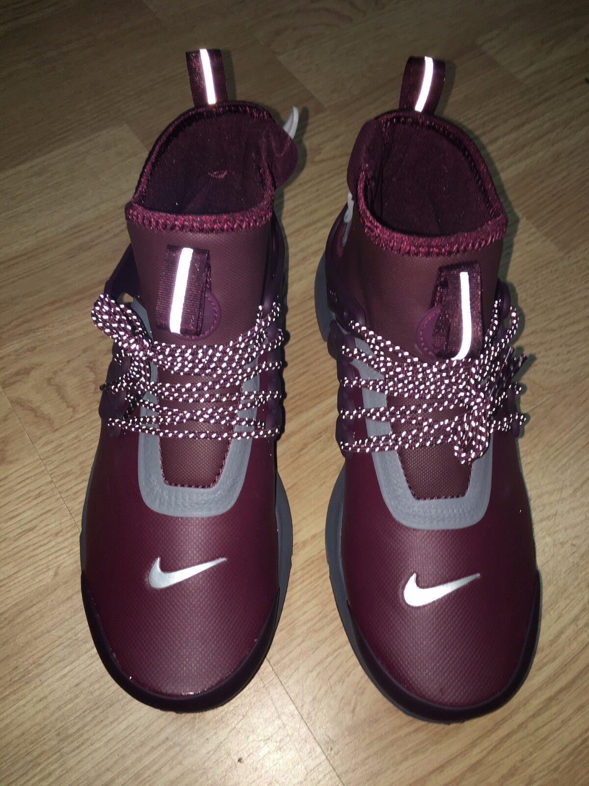 Nike Air Presto Mid Utility Wmn 859527-600 859527-600 859527-600 Night Maroon Reflect 3M Women's Rare 68b044