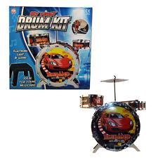 Niños Sound & Light Up Mi primer Kit de Tambores con Taburete & Drum Palos-nuevo
