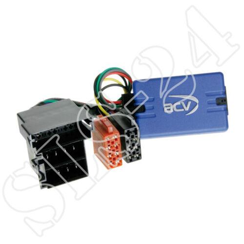 Sony Lenkradfernbedienungsadapter für Peugeot 206 306 1998-2002 ISO Radioadapter