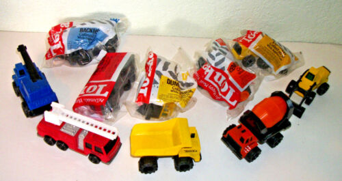 McDonald's Tonka Truck 5 toys set sealed 1992( new in package 26 years old mint)