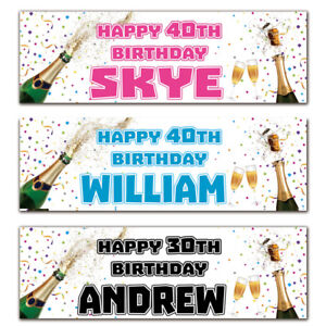 2-personalised-birthday-banner-champagne-party-18th-21st-30th-40th-50th-60th-70t