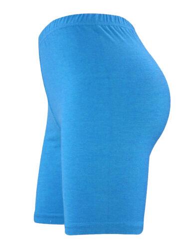 Femme noir cycling short Danse Leggings actif Casual Taille 8 10 22