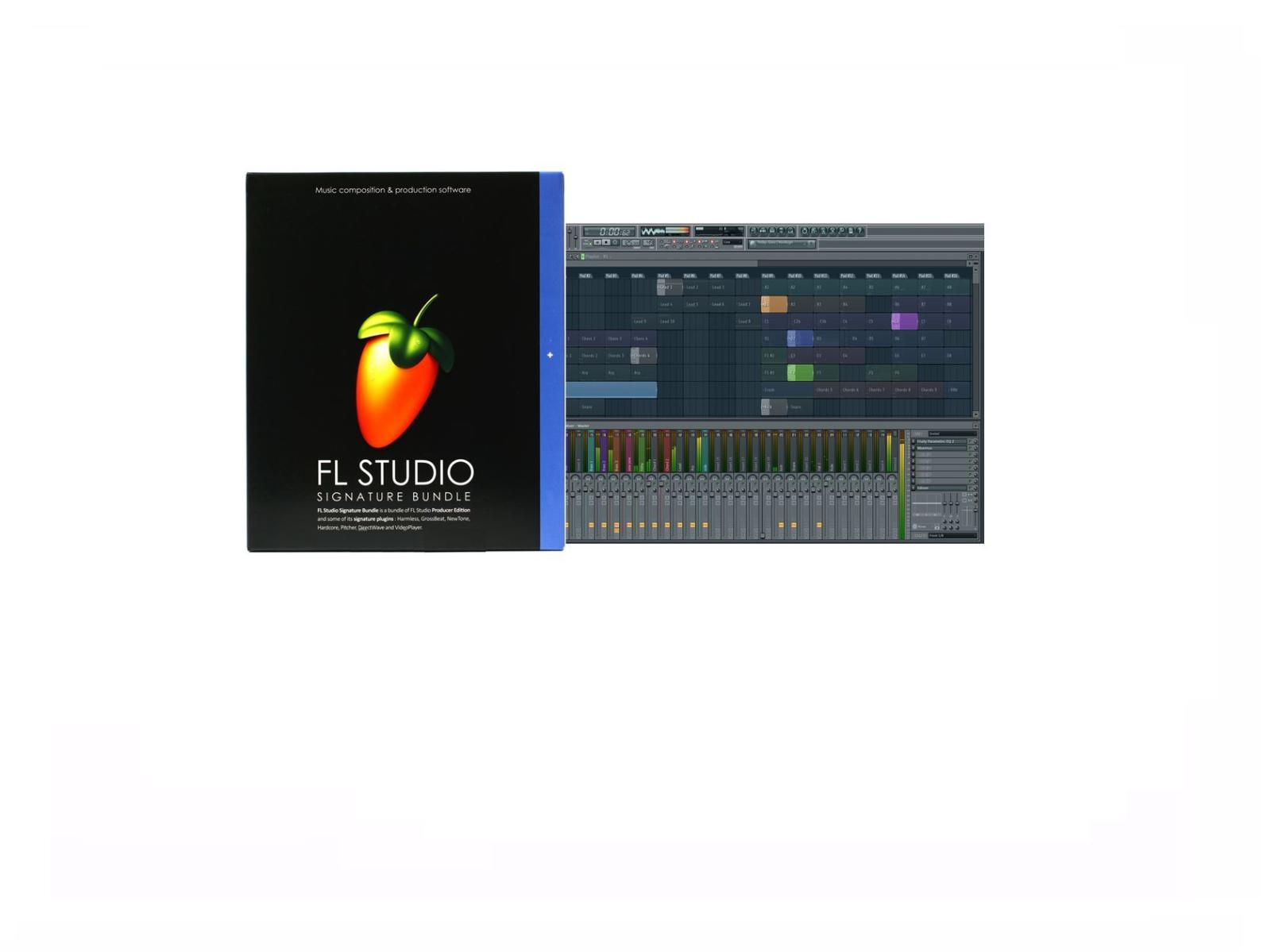 FL STUDIO 20 FRUITY LOOPS SIGNATURE MUSIC SOFTWARE RETAIL MAC LICENSE Sierra+Hig