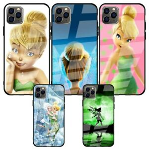 Tinker-Bell-Tempered-Glass-Back-Case-for-iPhone-11-Pro-Xr-X-XS-Max-6-6s-7-8-Plus