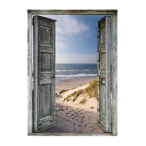 5D Diamond Painting Beach in the front Door Landscape Paint By Number Kits
