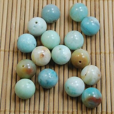 Wholesale Natural Genuine Gemstone Round Spacer Loose Beads 4,6,8,10mm