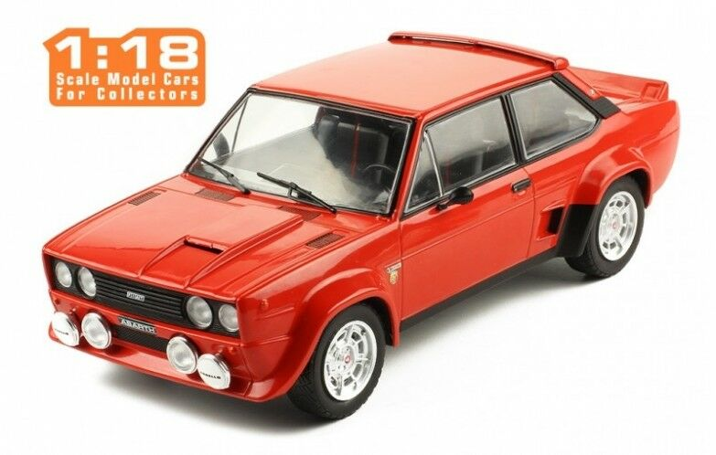 FIAT 131 ABARTH 1980 car miniature 1 18 collection ixo 18cmc003