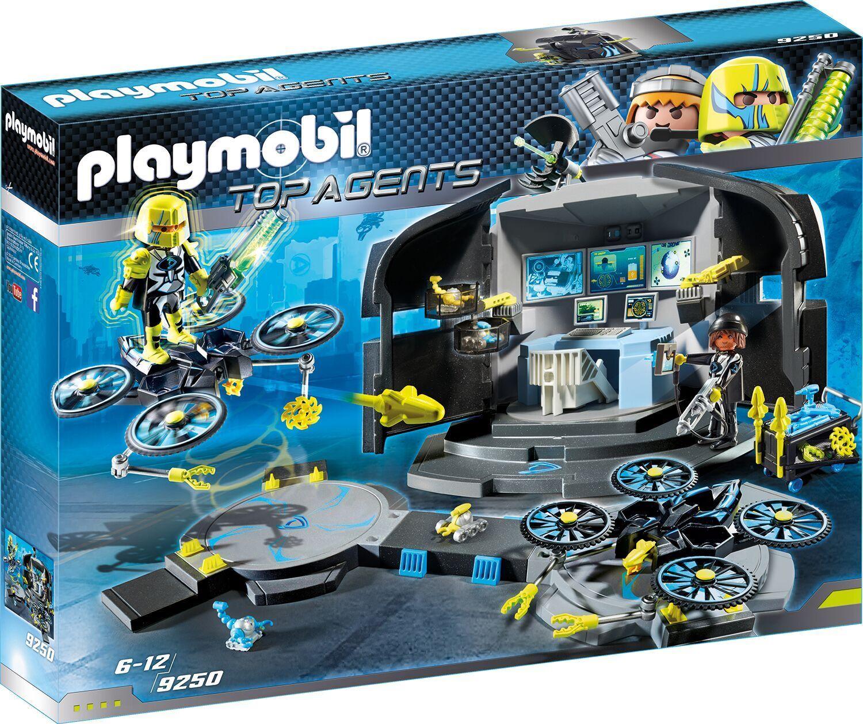 Playmobil 9250 Dr. Center Drone's Command Center Dr.  NEU/OVP cfc879