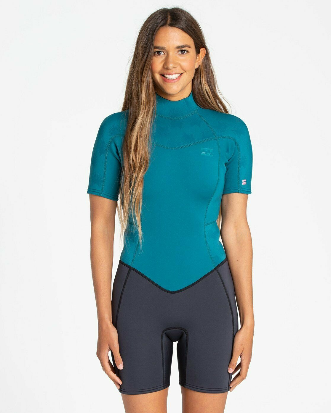 Billabong Synergy  2mm Springsuit Wetsuit - Women's - 8, Pacific  factory direct and quick delivery