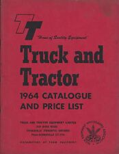 Farm Equipment Catalog - Truck and Tractor - Cooksville Ontario - 1964 (F4992)