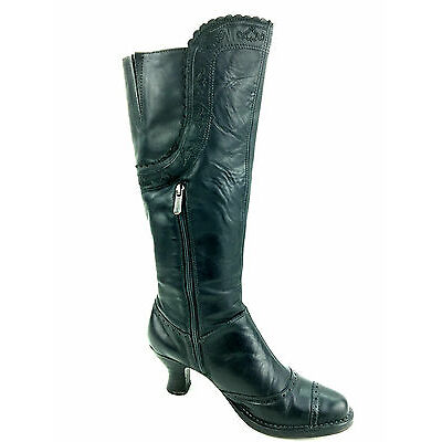 Neosens Rococo Women's Knee High Embroidered details  Boots Size 8 Usa.Eur.39