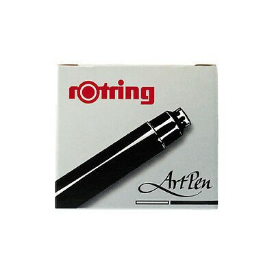 Rotring ArtPen Ink Cartridge Black 6 Pack S0194751
