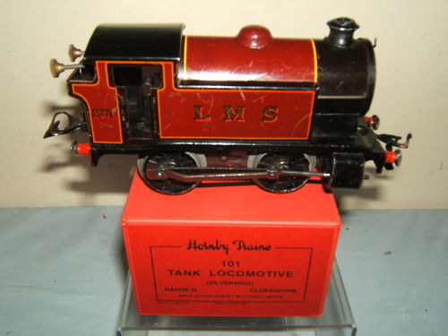 VINTAGE HORNBY '0' C W No.101 LMS 0-4-0T LOCO  BOXED