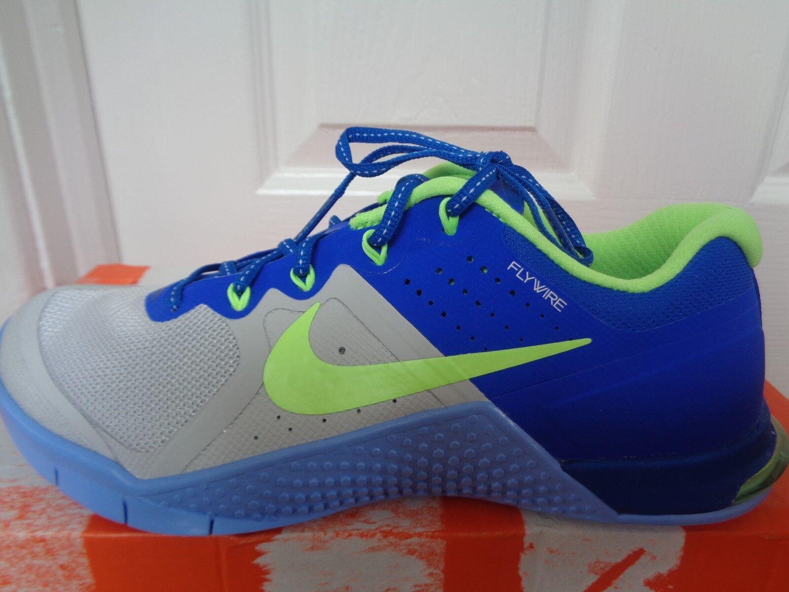 Nike Metcon 2 damen schuhe trainers Turnschuhe 821913 003 uk 5.5 eu 39 us 8 NEW+BOX
