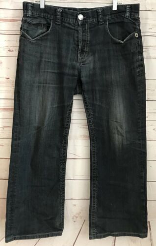 Dark Flap Petersburg W Bootcut Wash Jeans 28 Hommes X St 36 Pocket Mek Sz 861Fq1