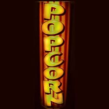 LED LIGHTED MOVIE  THEATER  POPCORN SIGN / STORE SIGN HOME CINEMA SIGN