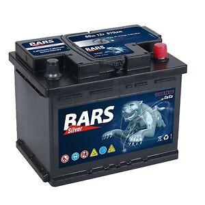 autobatterie bars 12v 60ah starterbatterie wartungsfrei. Black Bedroom Furniture Sets. Home Design Ideas