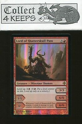 Red Launch Parties Mtg Magic Rare 4x x4 4 PROMO FOIL Lord of Shatterskull Pass