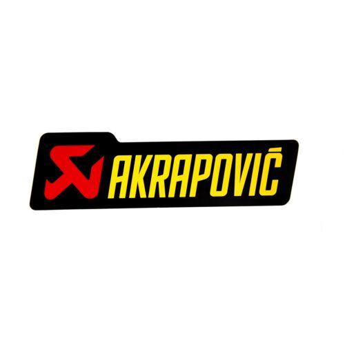 AKRAPOVIC street échappement autocollant Hitzefest Ducati pointés 800 urban Enduro a