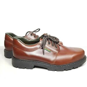 Mens-Slatters-Leather-Business-Formal-Shoes-Size-8-5-Brown