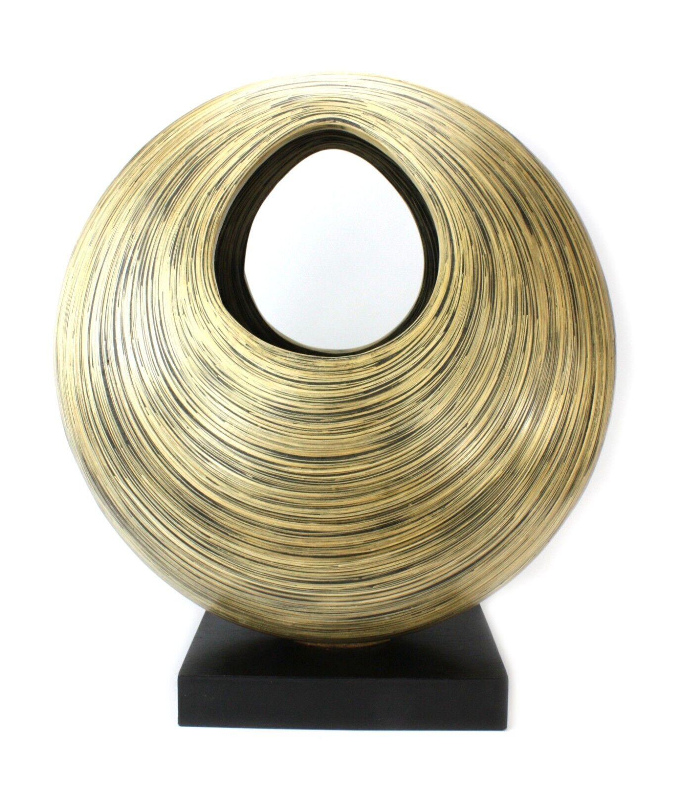 Thai Bamboo Lacquerware, decorative sculpture, 62cm high. Handmade in Thailand.