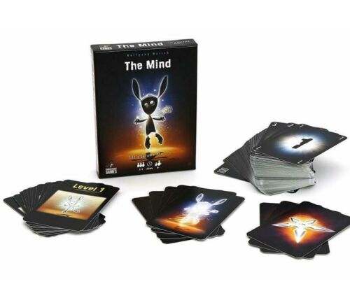 Multiplayer Fast Ship From USA The Mind Card Interactive Strategy Board Game