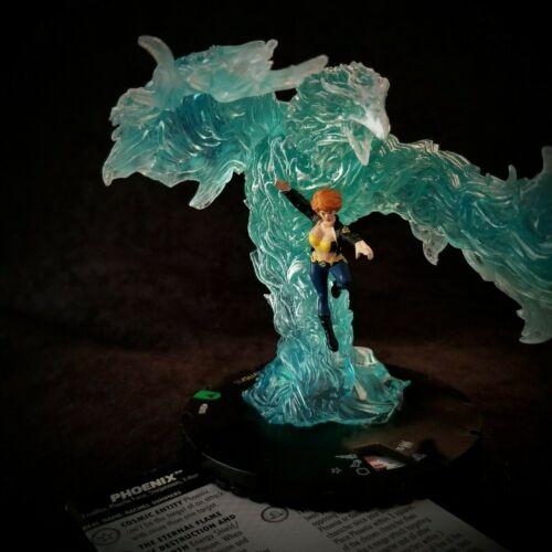 Phoenix Kolossale Uncommon G010 Heroclix X-Men Animiert Dunkel Phoenix