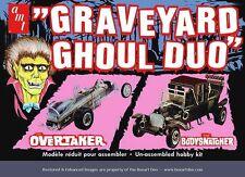 Discontinued 2012 AMT 0191:25 graveyard ghoul duo overtaker &bodysnatcher model