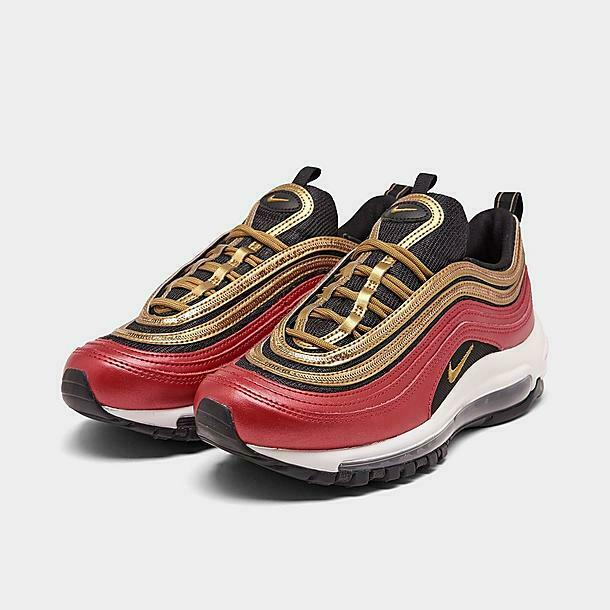 Size 6.5 - Nike Air Max 97 Gold Sequin
