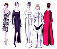 146 EMBASSY BALL GOWN Pattern for Fashion Dolls
