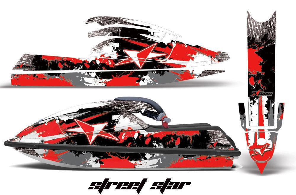 Jet Ski Grafik Kit Aufkleber Pwc für Kawasaki Js SX 750 SX Js 1992-1998 Streetstr R a3ac03