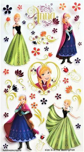 ANNA /& FLOWERS EK SUCCESS JOLEE/'S BOUTIQUE DISNEY STICKERS FROZEN