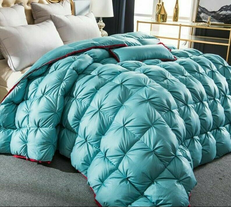 Thick Blanket Bed Duvet Comforter Soft Warm Fabric Cover For Winter Quilted New