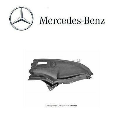 For Mercedes W220 S-Class Front Driver Left Engine Compartment Shield GENUINE