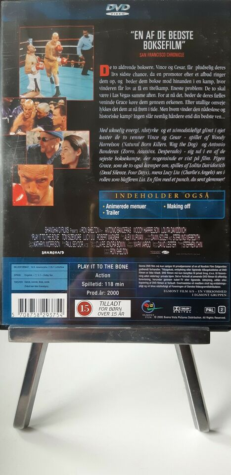 Knock out/ Play it to the bone, DVD, action