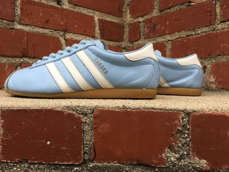 Adidas Limited 2002 Release Rare Baby bluee Rekord Men Size 6.5 Sneaker 382435
