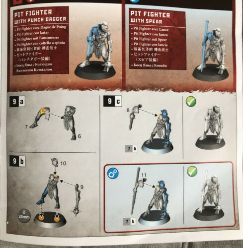 Spire Tyrants 1 Pit Fighter Warcry 2 options