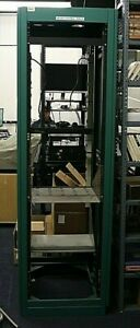 "APW BROADCAST EQUIPMENT RACK  31x24x78"" rack rails 18 1/4"" on center  REDUCED"