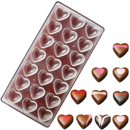 Polycarbonate Clear Chocolate Mold Candy Jelly Cookie Cake Tray Mould