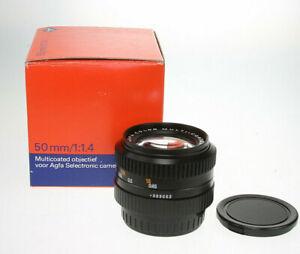 Agfa-color-MC-1-4-50mm-fur-Pentax-K-OVP-near-mint-unbenutzt