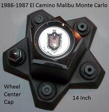 1986-1987 Chevrolet Monte Carlo El Camino 14 Inch Wheel Center Cap 14009835-3 D