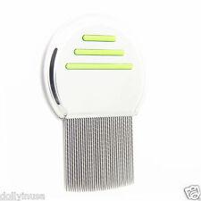 Head Lice Comb Nit Stainless Metal Teeth Terminate Free S&H Los piojos peine G