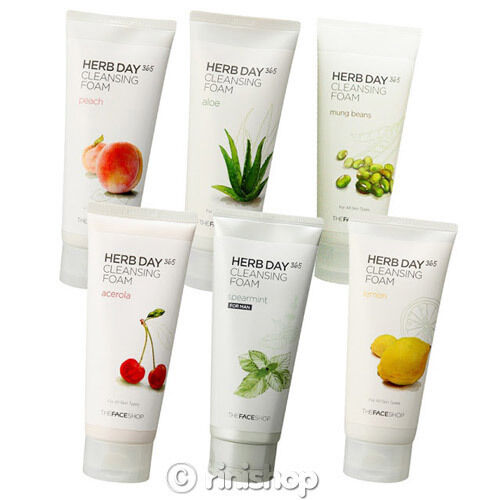 [THE FACE SHOP] Herb Day 365 Cleansing Foam 170ml Rinishop