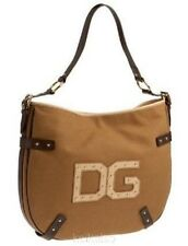 $1100 Dolce & Gabbana D&G Logo Large Canvas Shoulder Bag HandBag Purse NEW~NICE~