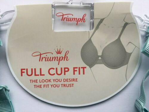 TRIUMPH Turquoise Beauty-Full Darling Wired Padded Bra in sizes 34F 36E 36F 38F