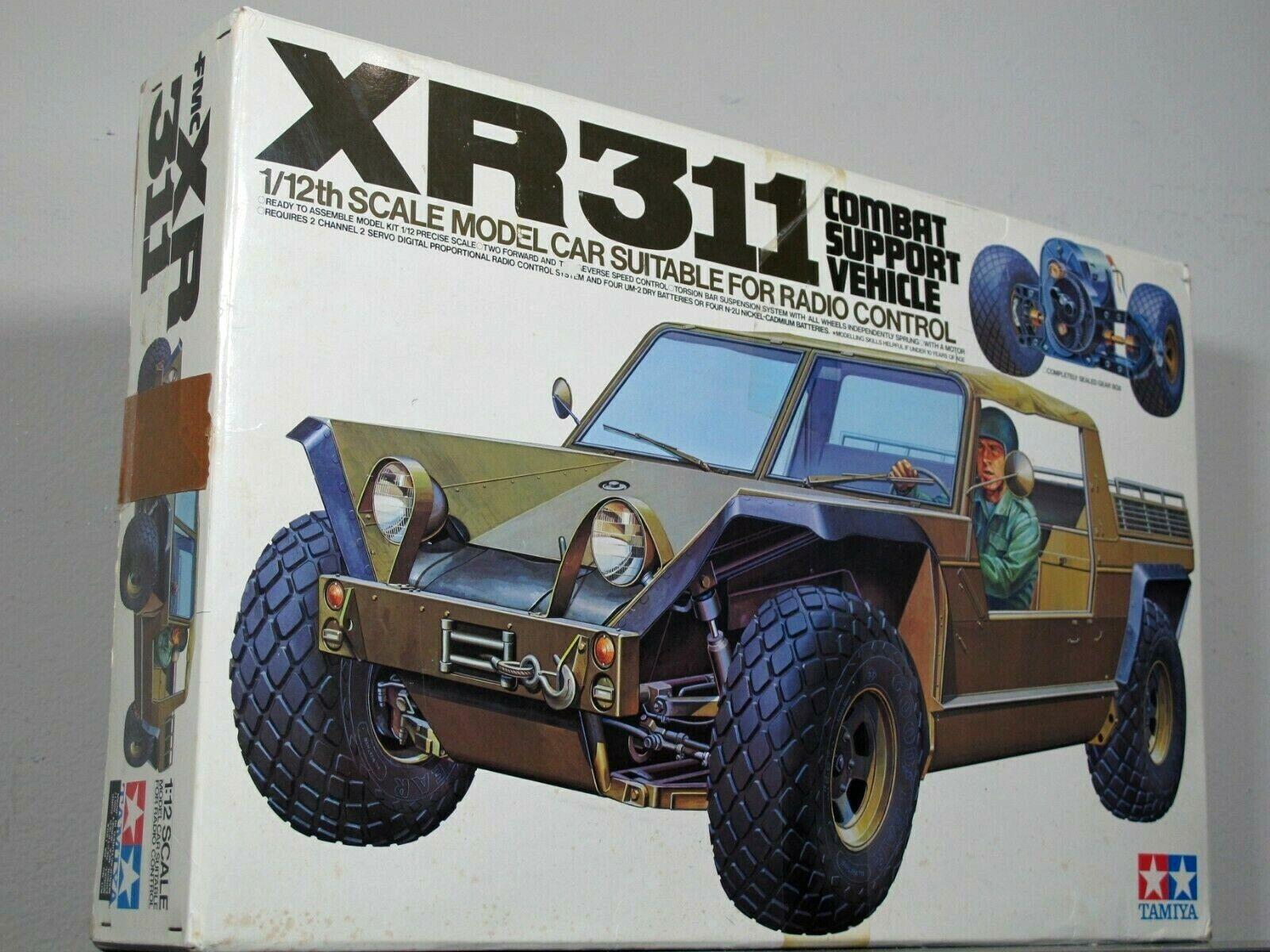Vintage Tamiya 1 12 XR311 COMBAT SPORT VEHICLE 1977 ORIGINAL  58004   RA1204 NIB